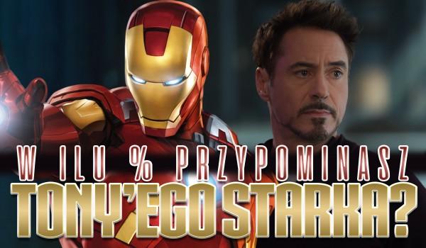 W ilu % przypominasz Tony'ego Starka?