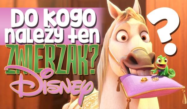 Do kogo należy ten zwierzak? Edycja Disney!