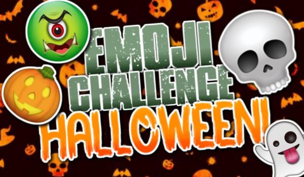 Emoji Challenge – Halloween!