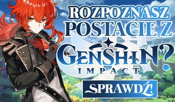 Czy rozpoznasz postacie z Genshin Impact?