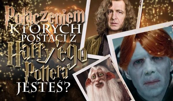 Połączeniem których postaci z Harry'ego Pottera jesteś?