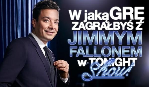 """W jaką grę zagrałbyś z Jimmym Fallonem w """"Tonight show""""?"""