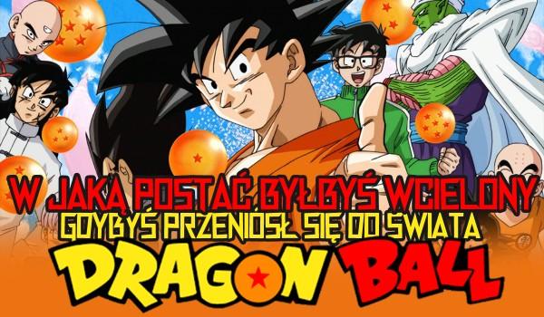 Sprawdź, w jaką postać zostałbyś wcielony, gdyby wysłano Cię do świata Dragon Ball (wersja męska)!