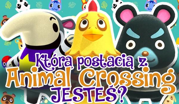 Którą jesteś postacią z Animal Crossing?