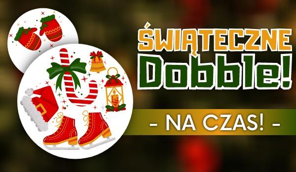 Świąteczne Dobble – Na czas!