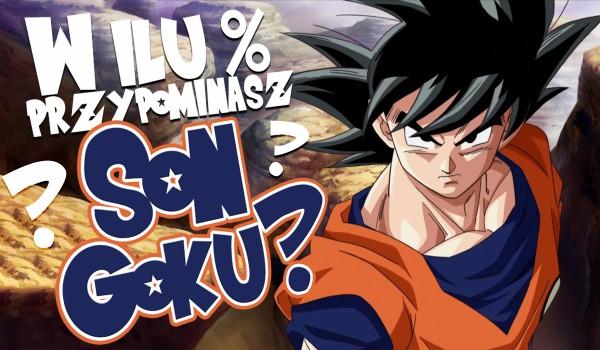 W ilu % przypominasz Son Gokū? Sprawdź!