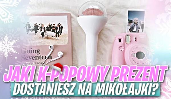 Jaki k-popowy prezent dostaniesz na Mikołajki?