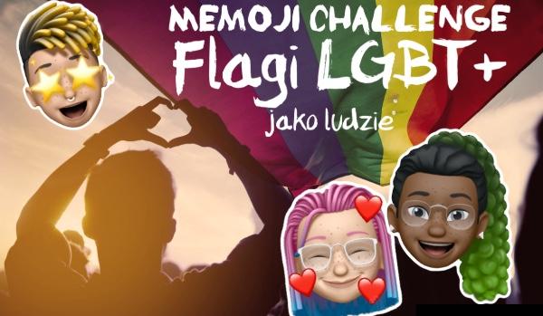 Memoji challenge: Flagi LGBT+ jako ludzie