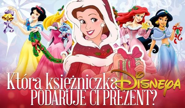Która księżniczka Disneya podaruje Ci świąteczny prezent?