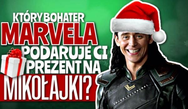 Który bohater Marvela podaruje Ci prezent z okazji Mikołajek?
