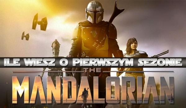 """Ile wiesz o pierwszym sezonie """"The Mandalorian""""?"""