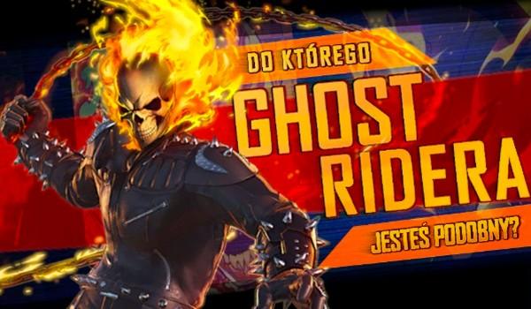 Do którego Ghost Ridera jesteś podobny?
