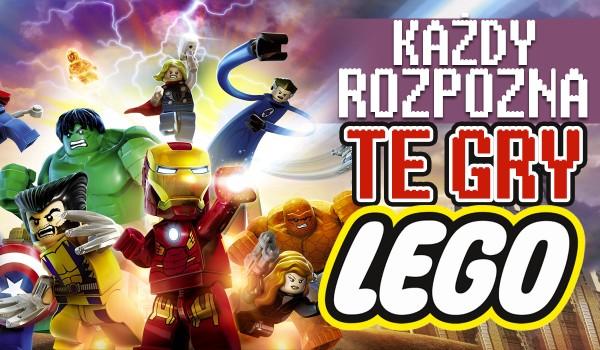 Każdy rozpozna te gry LEGO!
