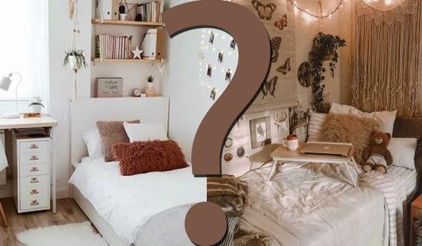 W którym z tych pokojów mogłabyś mieszkać?