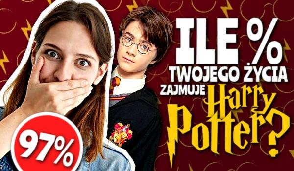Ile % Twojego życia zajmuje Harry Potter?