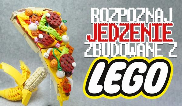 Czy rozpoznasz jedzenie zbudowane z LEGO?