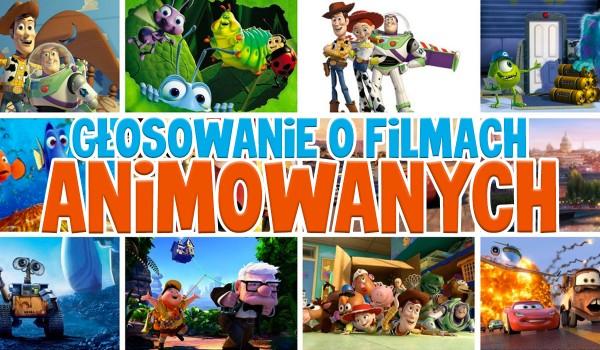 Głosowanie o filmach animowanych!
