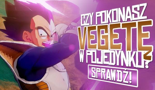 Sprawdź, czy uda Ci się pokonać Vegetę z Sagi Saiyan w pojedynku!
