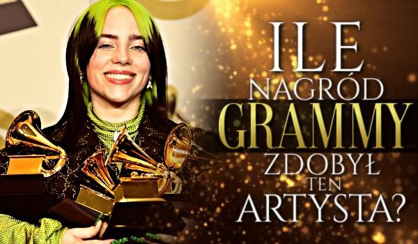 Ile nagród Grammy zdobył ten artysta?