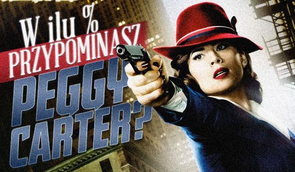 W ilu % przypominasz Peggy Carter?