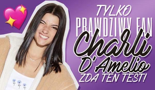 Tylko prawdziwy fan Charli D'amelio zda ten test!