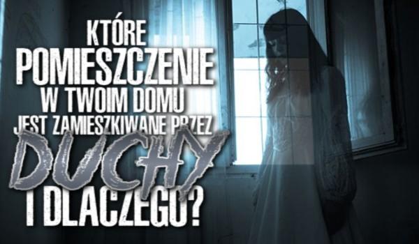 Które pomieszczenie w Twoim domu jest zamieszkiwane przez duchy i dlaczego?