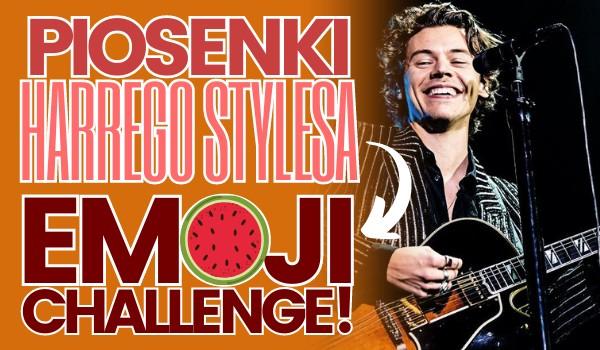 Piosenki Harrego Stylesa – Emoji Challenge!