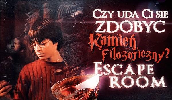 Czy uda Ci się zdobyć Kamień Filozoficzny? Escape room – edycja Harry Potter!
