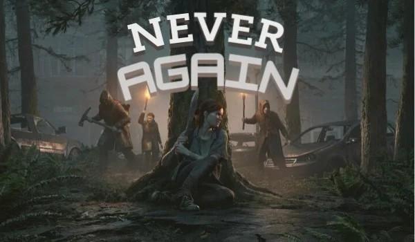 Never again – one shot