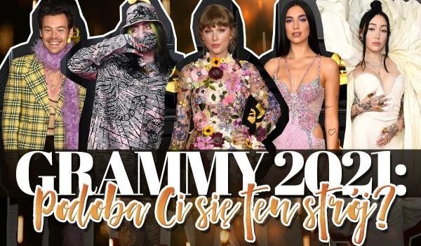 Grammy 2021: Czy ten strój Ci się podoba?