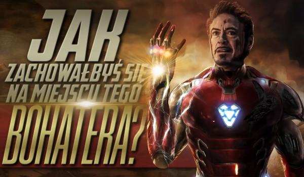 Jak zachowałbyś się na miejscu tego bohatera? – Marvel
