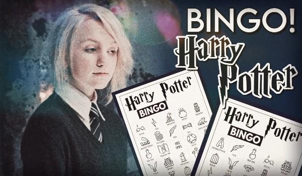 """Bingo! – Edycja ,,Harry Potter"""""""