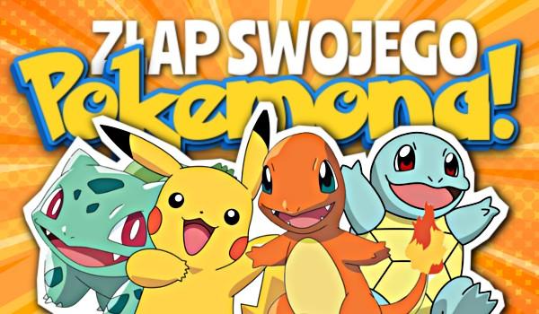 Zdrapka: Złap swojego Pokemona!
