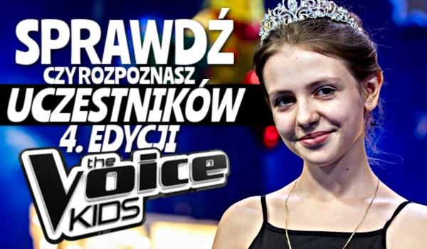 """Czy rozpoznasz uczestników 4. edycji """"The Voice Kids""""?"""