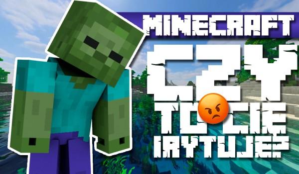 Czy to Cię irytuje? – Minecraft #2