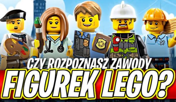 Rozpoznasz zawody figurek LEGO?