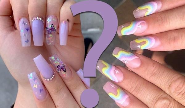 Które paznokcie w stylu aesthetic są ładniejsze? – Zagłosuj!