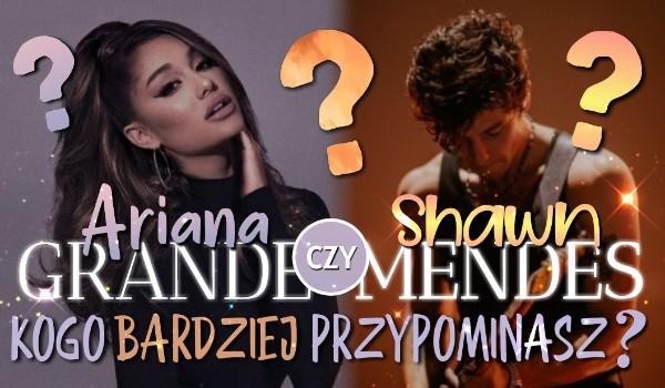 Odpowiedz na pytania związane ze sztuką i przekonaj się, kogo przypominasz bardziej – Arianę Grande czy Shawna Mendesa!