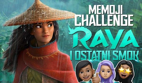 """Memoji challenge: """"Raya i ostatni smok"""""""