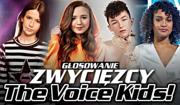 Zwycięzcy The Voice Kids – Głosowanie!