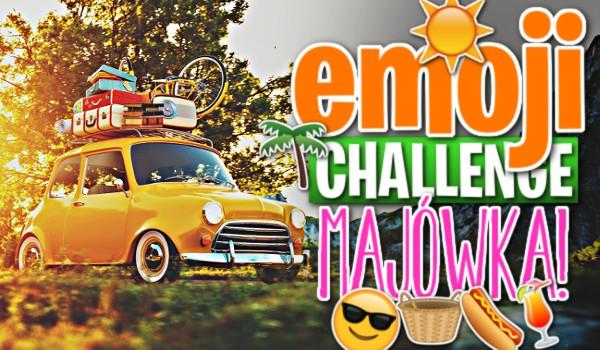 Emoji Challenge: Majówka!
