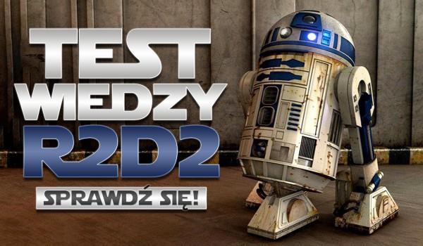 Test wiedzy – R2-D2