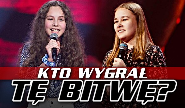 Kto wygrał tę bitwę? – The Voice Kids 4!