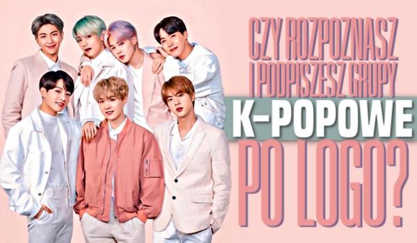 Rozpoznasz i podpiszesz grupy k-popowe po logo?