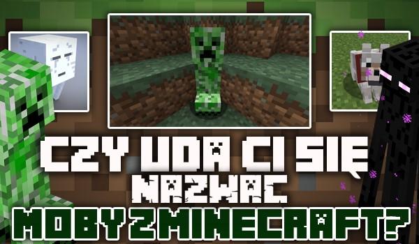 Czy uda Ci się nazwać moby z Minecraft?