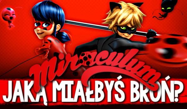 """Jaką miałbyś broń w """"Miraculum: Biedronka i Czarny Kot""""?"""
