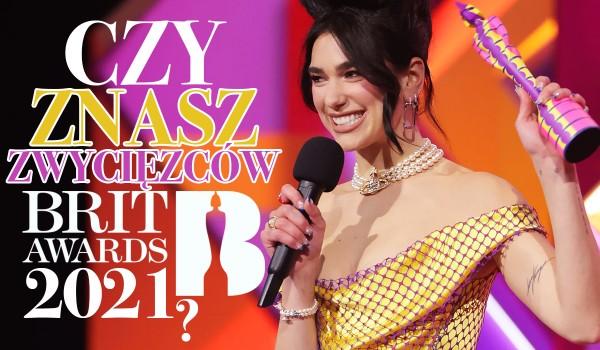 Czy znasz zwycięzców Brit Awards 2021?