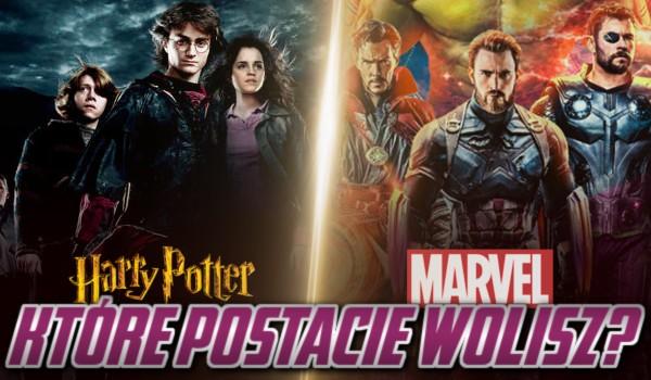 Harry Potter vs Marvel – Które postacie wolisz?