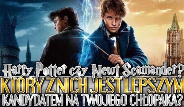Harry Potter czy Newt Scamander? Który z nich jest lepszym kandydatem na Twojego chłopaka?