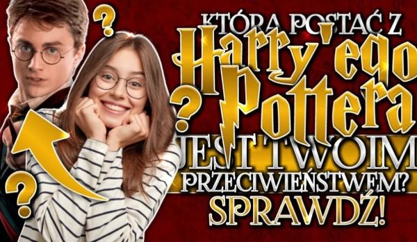 """Która postać z ,,Harry'ego Pottera """" jest Twoim przeciwieństwem?"""